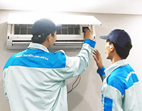 Tháo lắp máy lạnh Samsung
