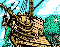 Pixel Art (True NES, Gifs, NAM's, CHR's)