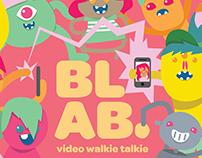 Blab: Walkie Talkie App Monsters