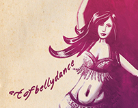 Art of Bellydance Illustration