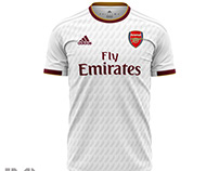 Concept Away Jersey Arsenal 2020-2021