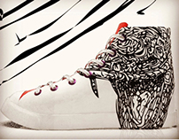 The serpent sneaker for summer