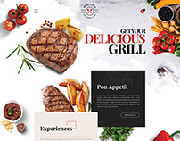 Deliciousa | Unlimited Foods & Restaurants PSD Template