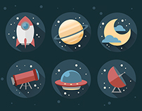 Space - Icon Design