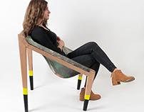 woose design     spring chair