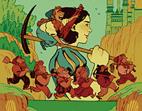 Snow White and the Seven Dwarfettes