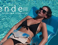 My Photo on Cover of Duende Leather Print Catalog