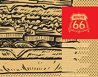 Route 66 - Menu and Flyer