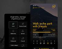Goal Achievent App UX/UI Design