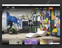 Hostel Keves | Diseño Web