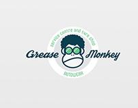 Grease Monkey logo design