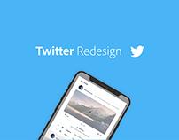 Twitter Redesign - UI/UX