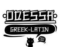 Odessa free font