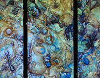 "48""x48"" (Triptych) , Untitled, 2007"