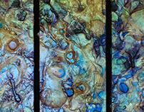 "48""x48"" (Triptych) , Untitled, 2007"