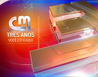 CM TV TRÊS ANOS
