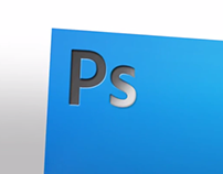 Photoshop before it became the iconic blue Ps