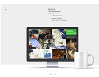Optical Technologies Website
