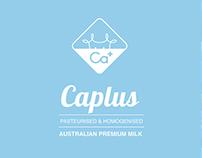 Caplus Milk Product Packaging