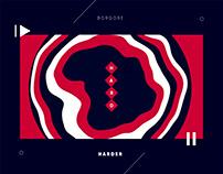 Borgore / H A R D E R (Motion Graphics)