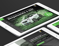 Responsive Landing page - smart Italia Campaign