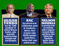 Political info graphic - Editorial illustration