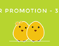 Spring & Easter Sale! 30% off on all templates!