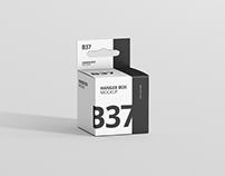 Box Mockup - Mini Square with Hanger