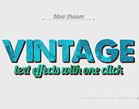 10 Vintage Text Effects