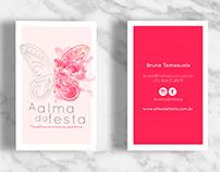 Cliente: Alma da Festa Branding e criação de site.