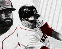 Boston Red Sox / Gamecocks World Series design