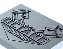 Octane Ironworks Logo Design