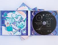 Kosmický žirafáč – album cover and illustrations