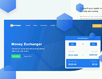 exchanger landing page