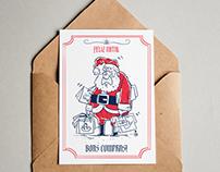 Cartões de Natal Ilustrados