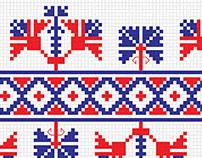BORDURA FONT - color font based embroidery
