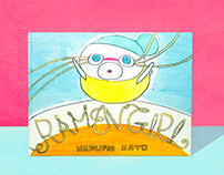 Ramen Girl -hand binded children book-