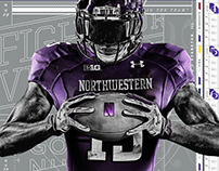 NU Athletics Identity