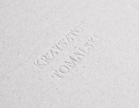 exhibition catalogue - Krzysztof Tomalski