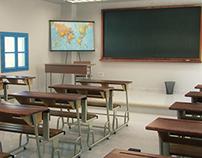 Tunisian Classroom