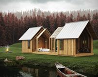 Scwélf Garden House - CGI