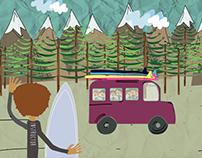 Give Surf - Animación