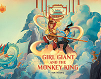 GIRL GIANT AND THE MONKEY KING COVER
