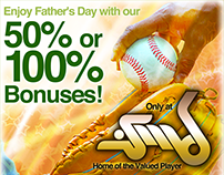 Banner: Enjoy Father's Day
