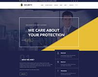 Security Agency WordPress Theme