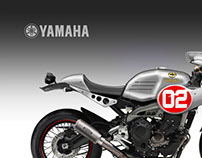 "YAMAHA XSR 900 FASTER SON ""ALL JAPAN"""