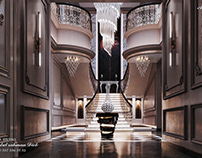 Luxury Modern Style Women Majles & Villa Entrance