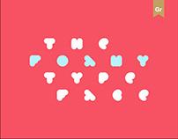 FOAMY — Typeface