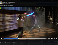 Allegiance Lightsaber Fight Call