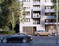 CGI: Residential building in Berlin, Germany